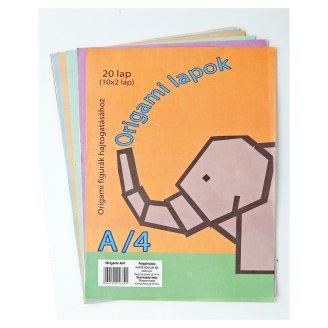 A/4 origami lapok 20 db