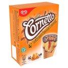 Cornetto Peanut Butter Ice Cream in Cocoa Wafer Cone with Caramel Sauce 4 x 90 ml