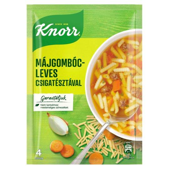 Knorr Telis-Tele Levesek Liver Dumplings Soup with Spiral Noodles 58 g
