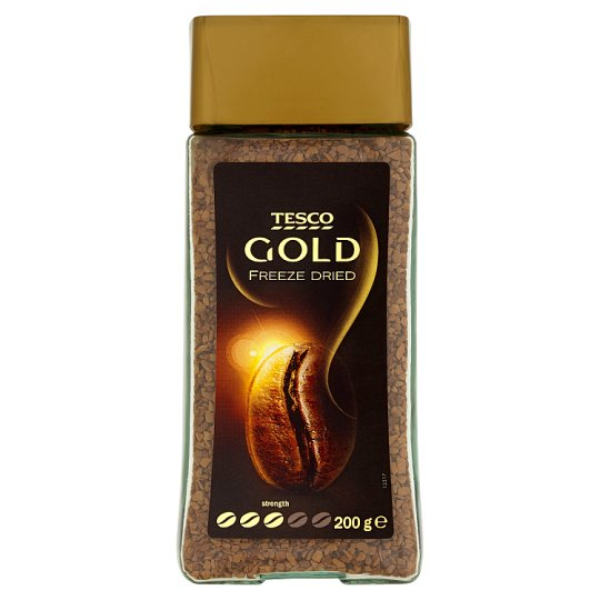 Tesco Gold Freeze Dried Instant Coffee 200 g