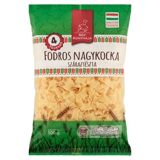 Séf Konyhája Frilly Large Squares Dry Pasta with 4 Eggs 500 g