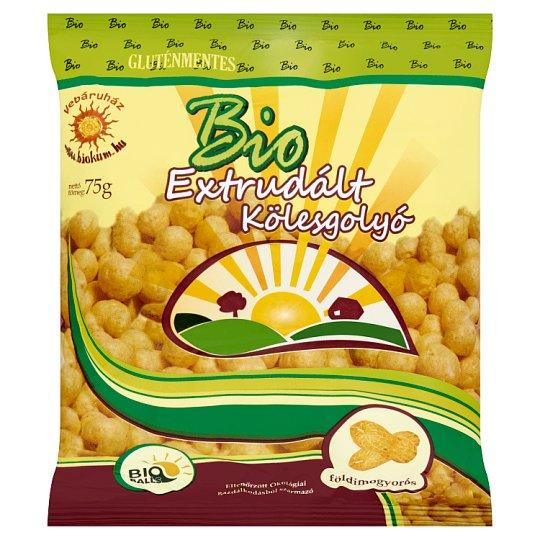 Bio Balls BIO gluténmentes földimogyorós extrudált kölesgolyó 75 g