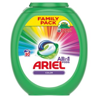 Ariel 3in1 Pods Color Washing Capsules 80 Washes