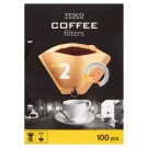 Tesco Coffee Filters Size 2 100 pcs