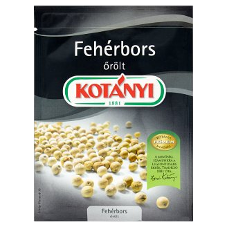 Kotányi Ground White Pepper 20 g