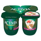 Danone Activia Fig Flavoured Yoghurt with Live Culture and Grains 4 x 125 g