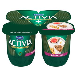 Danone Activia élőflórás fügés joghurt gabonákkal 4 x 125 g