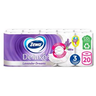 Zewa Deluxe Lavender Dreams toalettpapír 3 rétegű 20 tekercs