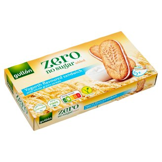 Gullón DietNature Cream Filled Biscuit without Added Sugar, with Sweetener 220 g