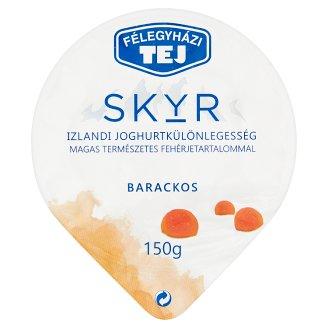 Félegyházi Tej Skyr barackos izlandi joghurtkülönlegesség 150 g