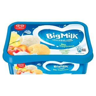 Big Milk Trio Tropicana ananász szorbé, vanília-tejszín ízű és őszibarack jégkrém 1000 ml