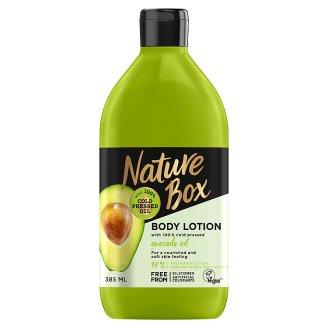 Nature Box Avokádó testápoló a táplált bőrért 385 ml