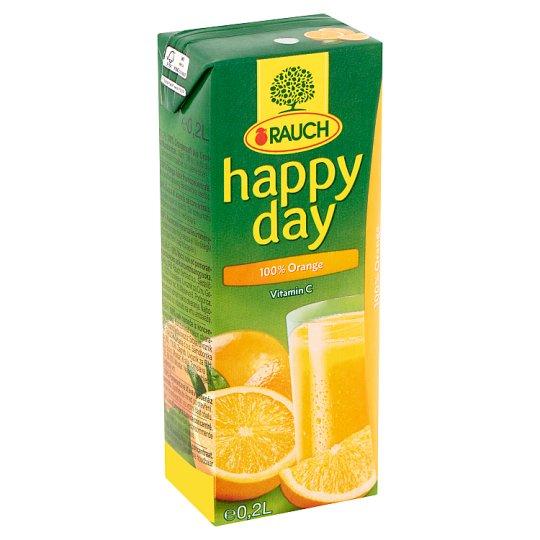 Rauch Happy Day 100% narancslé 0,2 l