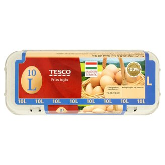 Tesco Fresh Eggs L 10 pcs