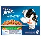 Felix Fantastic Zöldséges Falatok teljes értékű állateledel felnőtt macskák számára 12 x 100 g