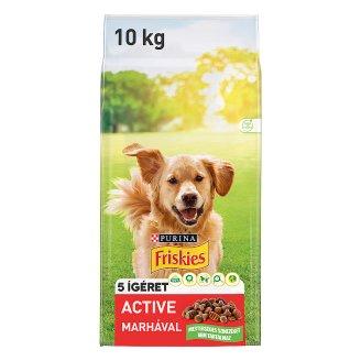 Friskies Active állateledel kutyák számára 10 kg