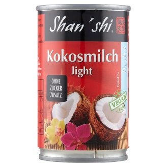 Shan'shi Light Coconut Milk 165 ml
