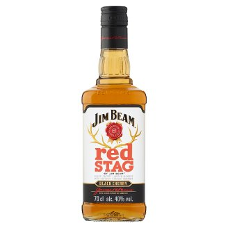 Jim Beam Red Stag Bourbon Whiskey Infused with Cherry Flavour 40% 0,7 l