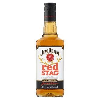 Jim Beam Red Stag cseresznye ízesítésű Bourbon whiskey alapú likőr 40% 0,7 l