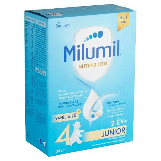 Milumil Junior 2+ Vanilla Flavoured Kids Drink 2+ Years 600 g
