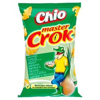 Chio Master Crok Onion and Sour Cream Flavoured Corn Snack 40 g