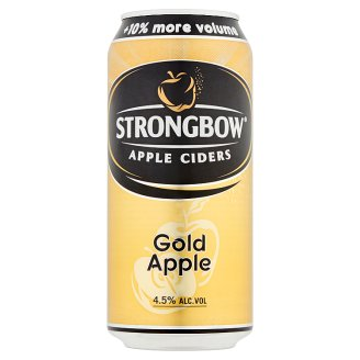 Strongbow Gold Apple cider 4,5% 440 ml