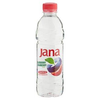 Jana kék áfonya és vörös áfonya ízű, energiaszegény, szénsavmentes üdítőital 0,5 l
