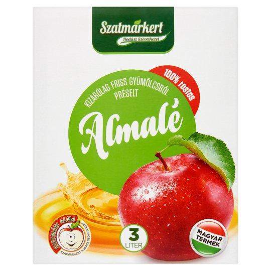 Szatmárkert 100% rostos almalé 3 l