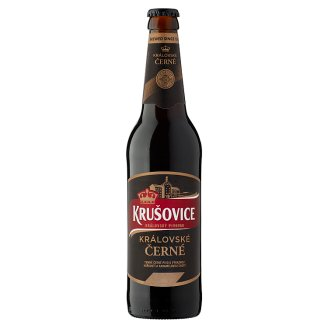 Krušovice Černé Original Czech Imported Brown Beer 3,8% 0,5 l Bottle