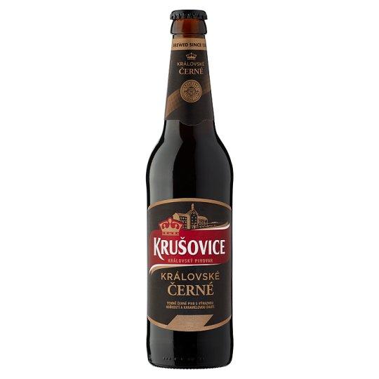 Krušovice Černé Original Czech Imported Brown Beer 3,8% 0,5 l Bottle