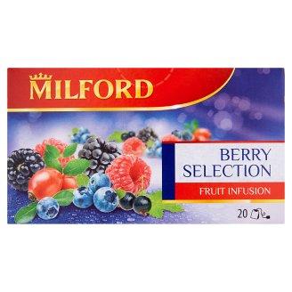 Milford Berry Selection Fruit Tea 20 Tea Bags 45 g