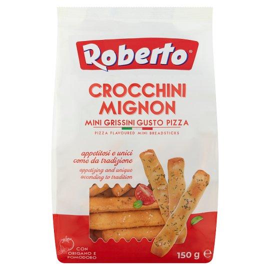Roberto búzalisztből készült ropogós kenyérpálcika pálmaolajjal, paradicsommal és oregánóval 150 g