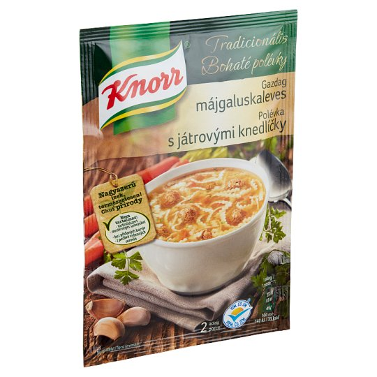 Knorr Tradicionális gazdag májgaluskaleves 44 g
