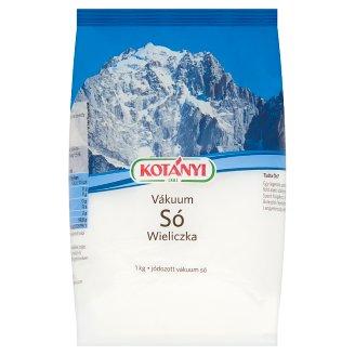 Kotányi Wieliczka Iodized Vacuum Salt 1 kg