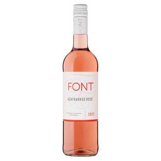 Font Kunsági Kékfrankos Rosé száraz rosébor 11,5% 750 ml