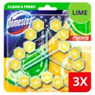 DOMESTOS Power5 Lime Toilet Rimblock 3 x 55 g