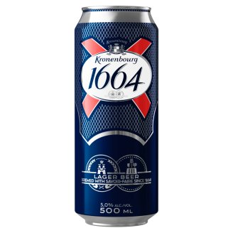Kronenbourg 1664 világos sör 5% 50 cl