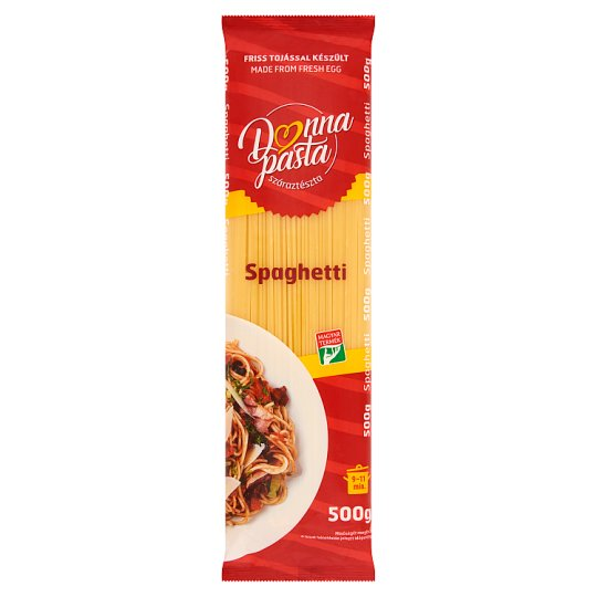 Donna Pasta Spaghetti Dried Pasta with 1 Egg 500 g