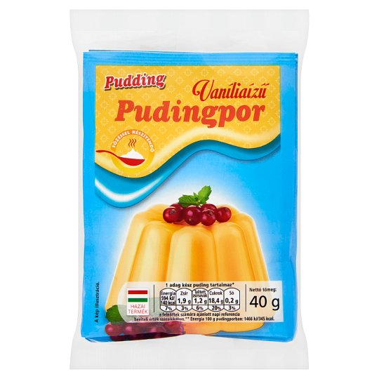 Pudding Vanilla Flavoured Pudding Powder 3 x 40 g