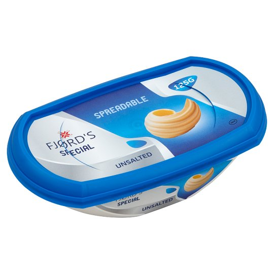 Fjørd's Special Spreadable, Unsalted Product 125 g