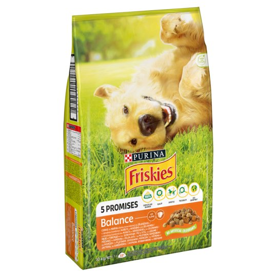 Friskies Vitafit Balance Complete Pet Food for Adult Dogs with Chicken and Vegetables 10 kg