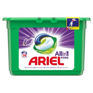 Ariel 3in1 Pods Lavender Washing Capsules 14 Washes