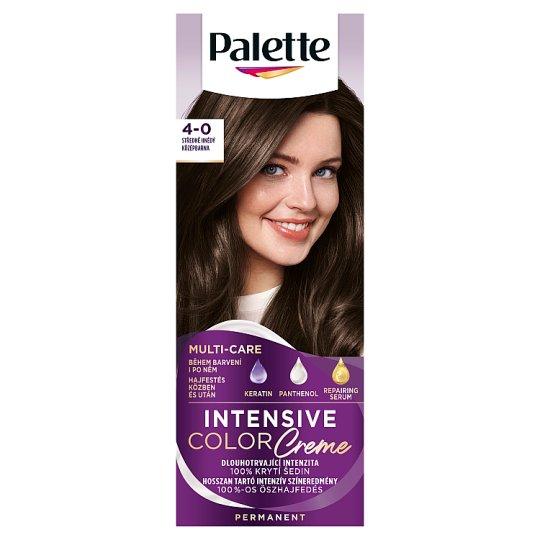 Schwarzkopf Palette Intensive Color Creme Intense Cream Hair Colorant 4-0 Medium Brown (N3)