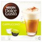 Nescafé Dolce Gusto Cappuccino őrölt pörkölt kávé és tejpor cukorral 2 x 8 db 200 g