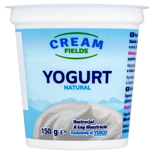 Cream Fields zsírszegény, élőflórás, natúr joghurt 150 g