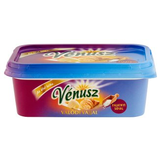 Vénusz Valódi Vajjal Falatnyi sóval Margarine and Butter Low-Fat Mix 400 g