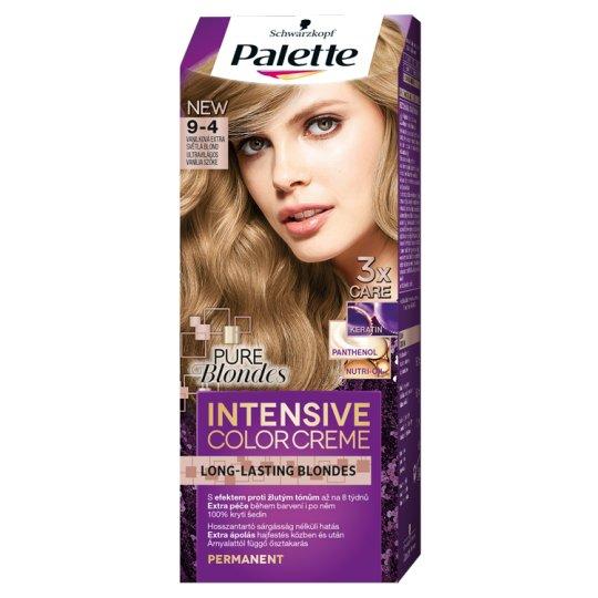 Schwarzkopf Palette Intensive Color Creme intenzív krémhajfesték 9-4 ultravilágos vanília szőke
