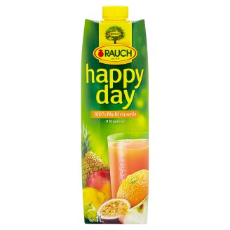 Rauch Happy Day 100% Multivitamin Mixed Fruit Juice 1 l