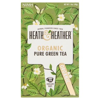 Heath & Heather BIO zöld tea 20 filter 40 g