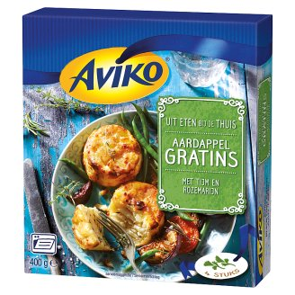 Aviko Quick-Frozen Potato Gratins with Cheese and Herbs 4 pcs 400 g